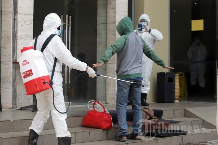 Pasien Covid-19 OTG Mulai Diisolasi Di Hotel