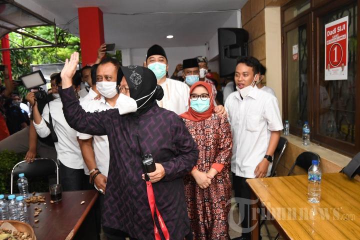 PDIP Surabaya Sambut Kemenangan Eri Cahyadi-Armuji