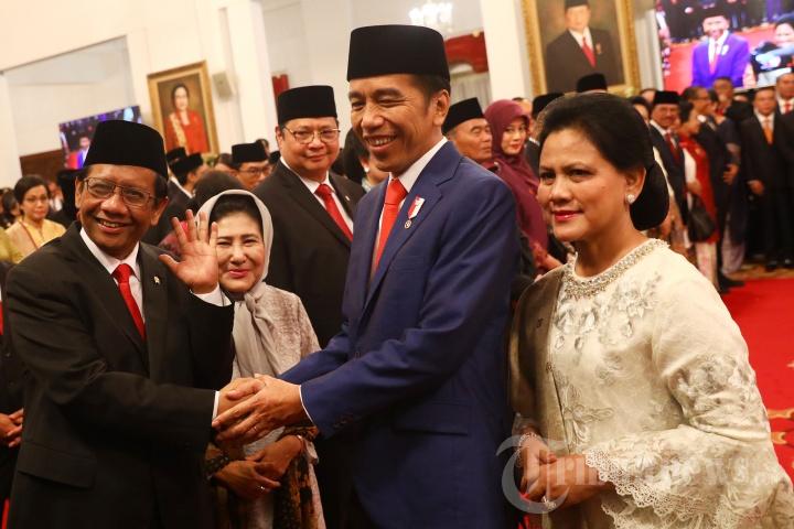 Pelantikan Kabinet Indonesia Maju