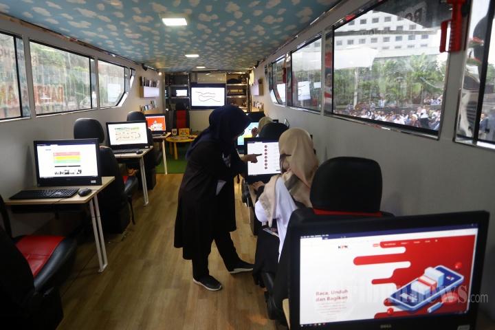 Pelepasan Roadshow Bus Anti Korupsi