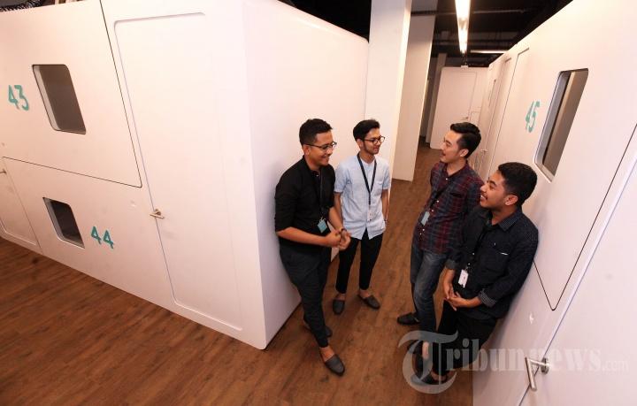 Peluncuran Pods Hotel Bobobox di Bandung