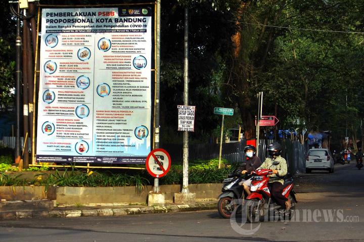 Pemberlakukan PSBB Proporsional di Kota Bandung
