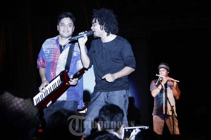 Penampilan Dwiki Dharmawan di Jazz Kota Tua