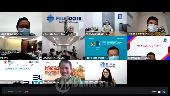 Penandatanganan MoU Kolaborasi Pelindo I - IV