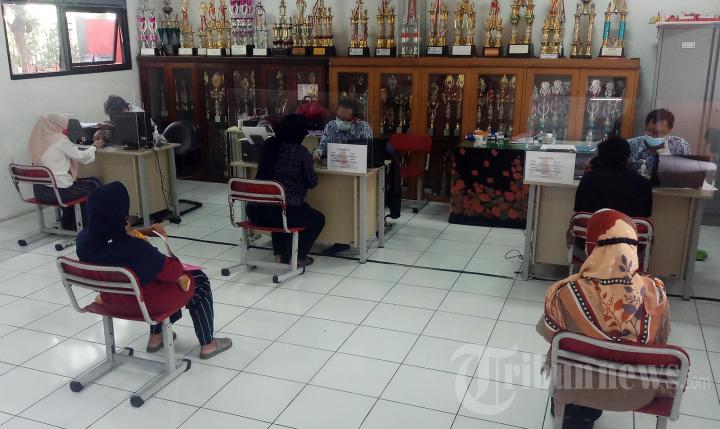 Pendaftaran PPDB tahap Zonasi di SD Negeri Tangerang