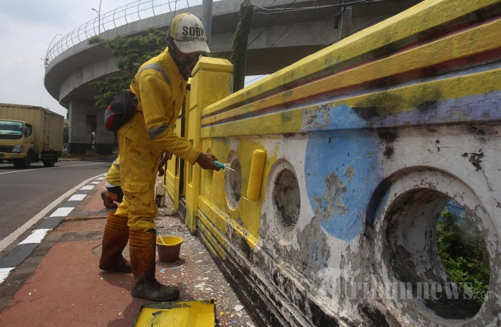 Pengecatan Jembatan di Cakung