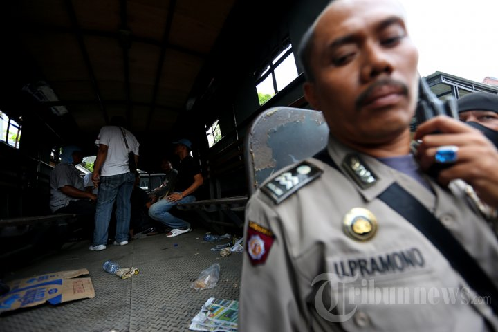 Penggerebekan Kampung Narkoba di Medan