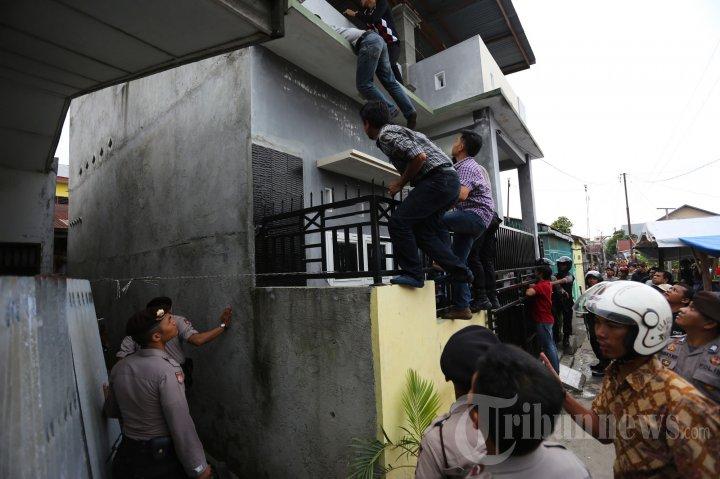Penggerebekan Pemilik Narkoba di Medan