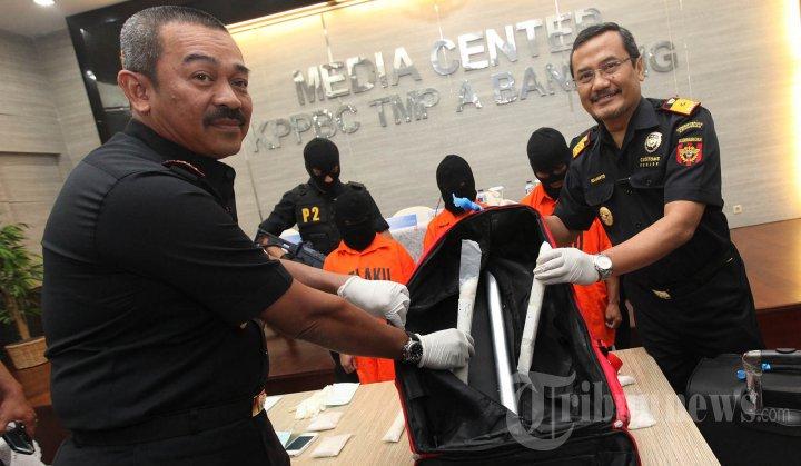 Pengungkapan Penyelundupan Sabu ke Kota Bandung