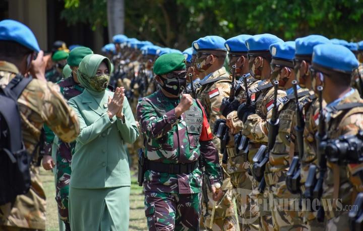 Penyambutan Kedatangan Prajurit Pasukan PBB Kodam Iskandar Muda