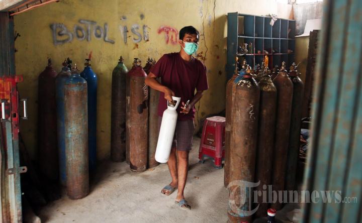 Permintaan Oksigen Medis di Bandar Lampung Meningkat 100 Persen