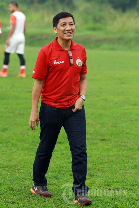 Persija Berlatih Jelang Babak 8 Besar Piala Jenderal Sudirman
