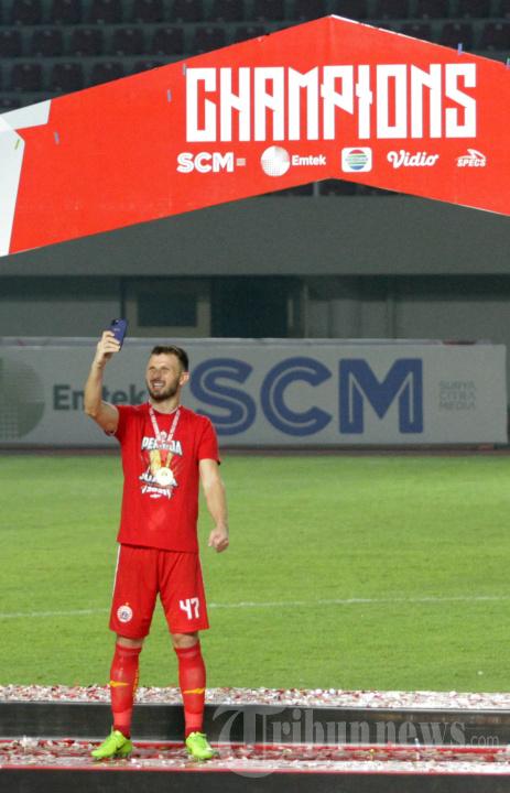 Persija Jakarta Juarai Turnamen Pra-musim Piala Menpora 2021