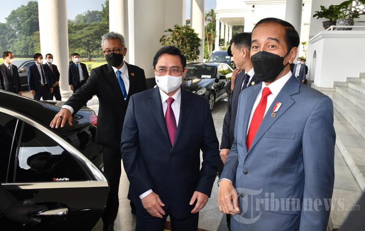PM Vietnam Gelar Pertemuan Bilateral dengan Jokowi