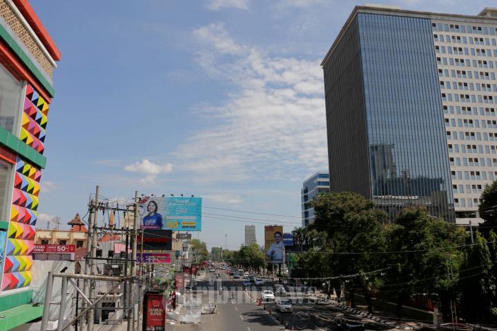 PPKM Diperpanjang Jalan Menuju Simpang Lima Semarang Dibuka
