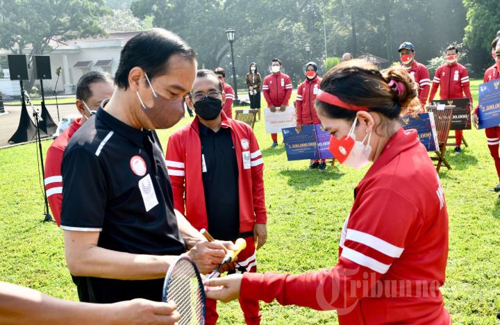Presiden Jokowi Terima Atlet Paralimpiade Tokyo 2020