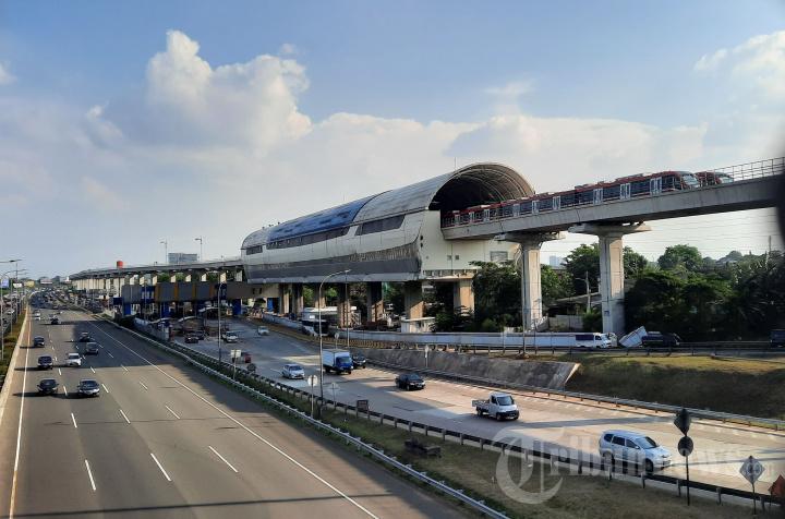 Progres Pembangunan Prasarana LRT Jabodebek