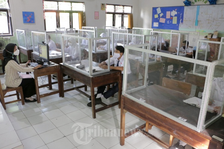 Proses Pembelajaran Tatap Muka Siswa SMP N 9 Semarang