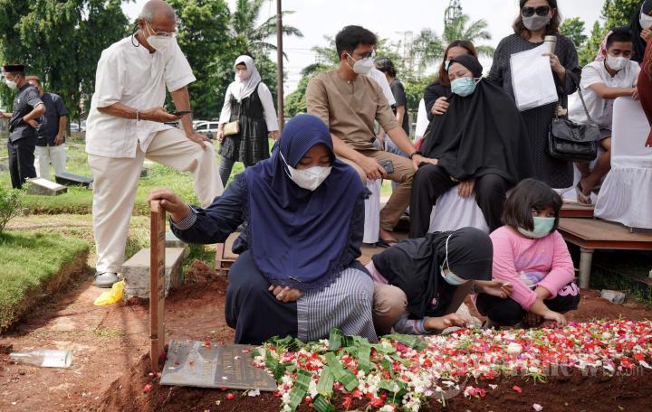 Prosesi Pemakaman Legenda Bulu Tangkis Markis Kido