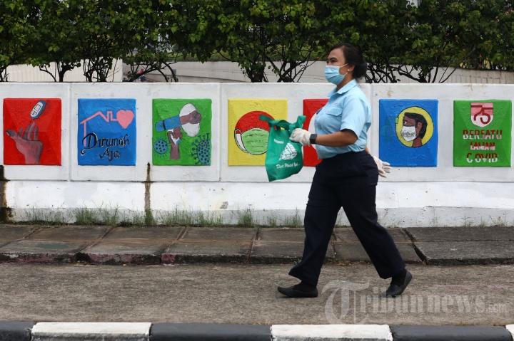 Rekor Penambahan Kasus Positif Covid-19 di Indonesia