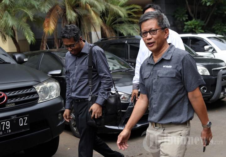 Rocky Gerung Diperiksa Polda Metro Jaya