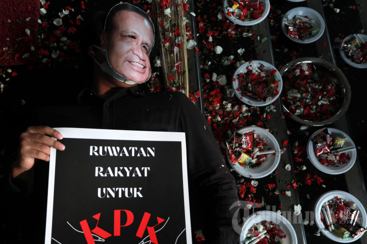Ruwatan Rakyat untuk KPK