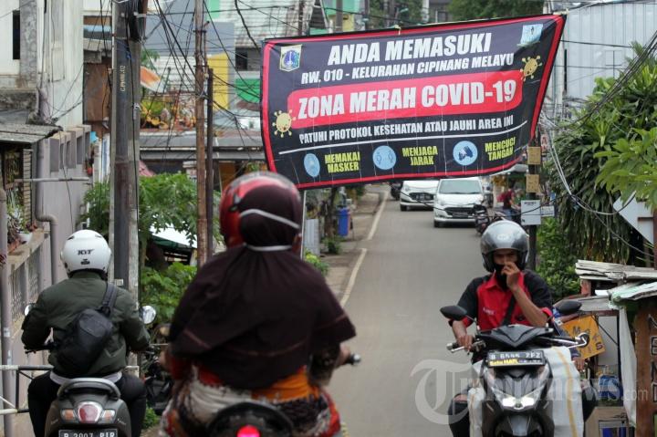 Sebanyak 54 RW di DKI Jakarta Berstatus Zona Merah Covid-19