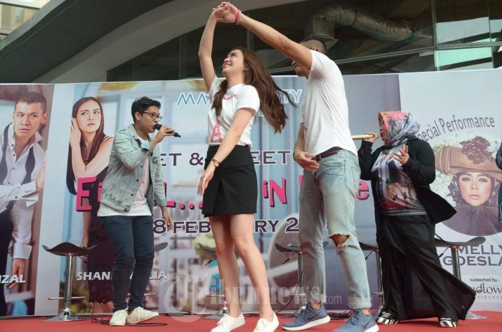 Shandy Aulia dan Samuel Rizal
