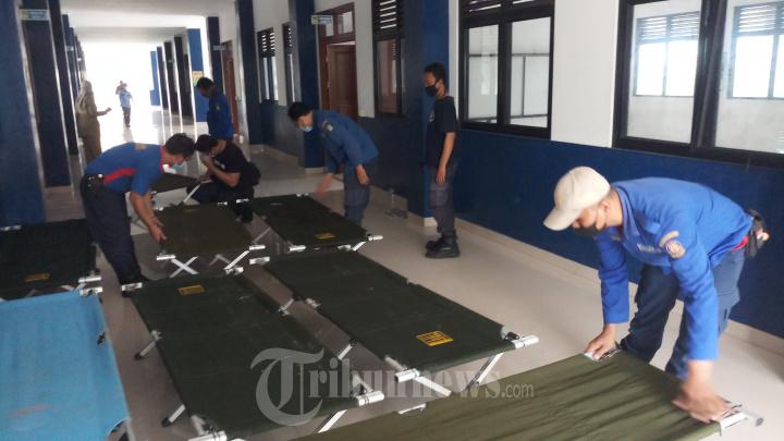 SMP Negeri 30 Tangerang Untuk Isolasi Pasien Covid-19