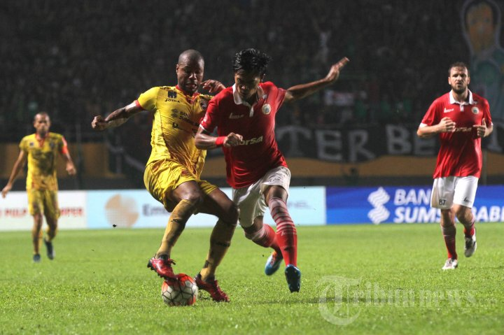 Sriwijaya FC Benamkan Persija Jakarta
