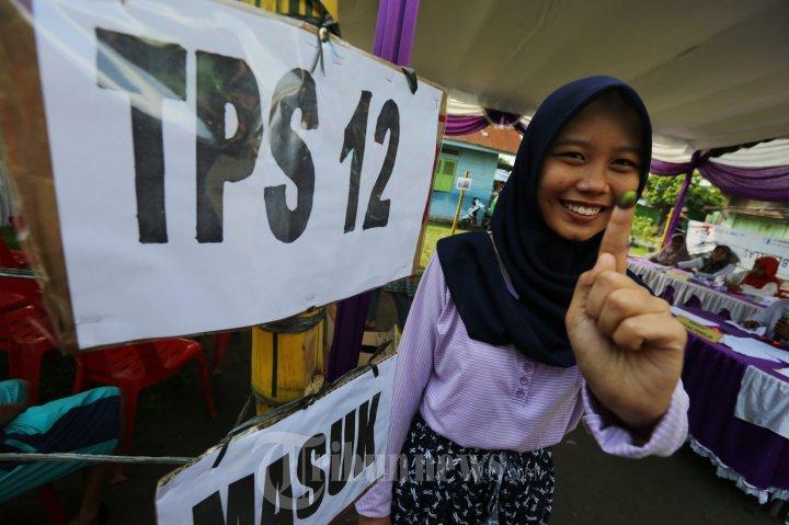Suasana Pilkada Serentak 2015 di Medan