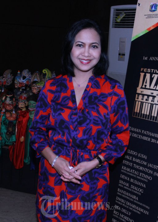 Sundari Soekotjo Konpers Festival Jazz Kota Tua