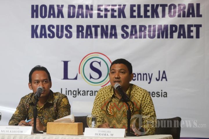 Survei Kasus Hoax dan Efek Elektoral Kasus Ratna Sarumpaet