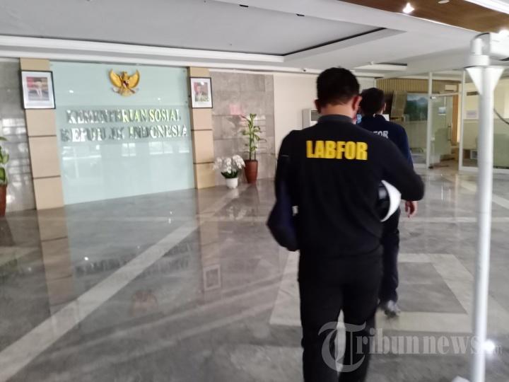 Tim Labfor Polri Selidiki Kebakaran Studio di Kementerian Sosial