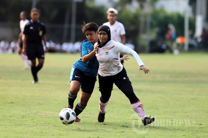 Timnas Putri Indonesia Laga Uji Coba Jelang SEA Games Vietnam
