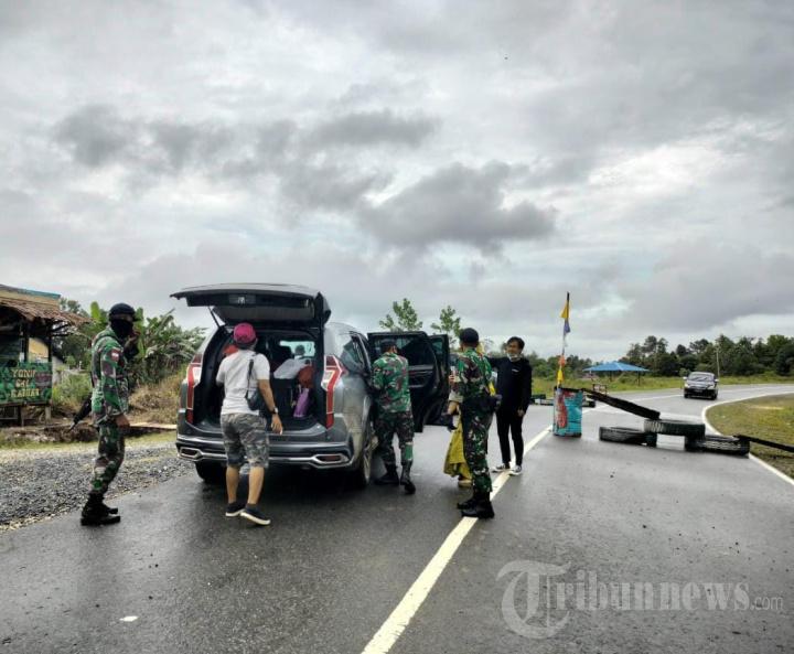 TNI Lakukan Sweeping di Perbatasan Indonesia-Malaysia