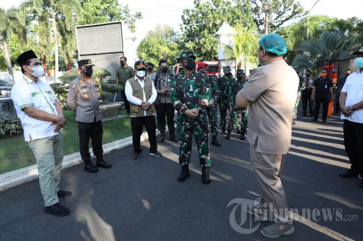 TNI-Polri Siapkan Fasilitas Isoman dan Isoter Disetiap Wilayah