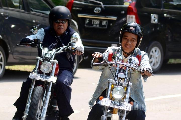 Touring Jokowi di Sukabumi