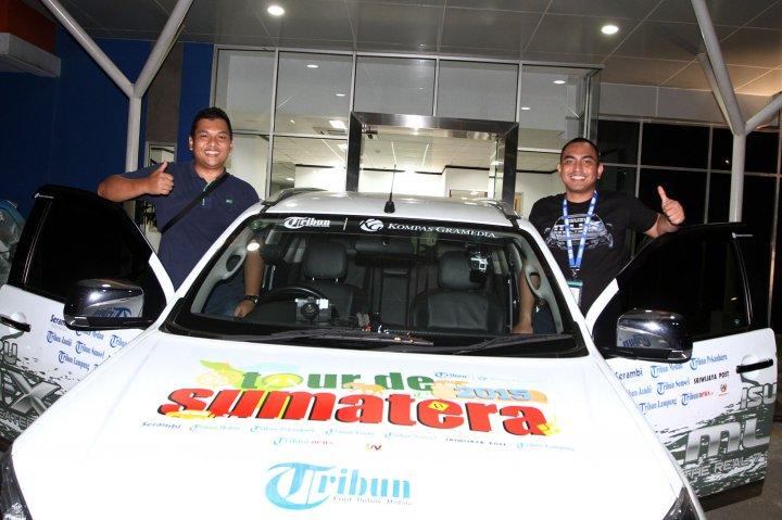 Tribun Tour De Sumatera Bersama Isuzu MU-X