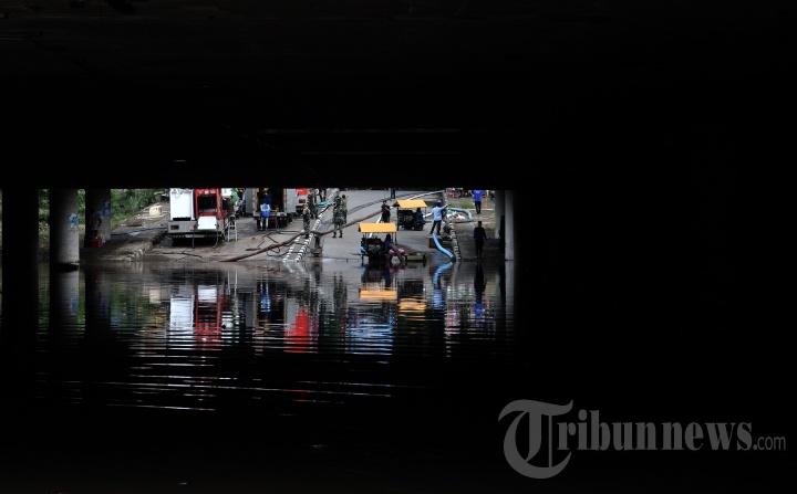 Underpass Kemayoran Kebanjiran