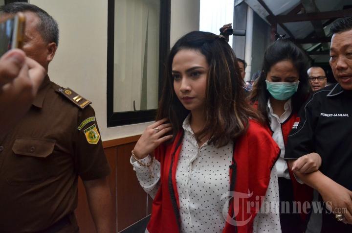 Vanessa Angel Kembali jadi Saksi Kasus Prostitusi Online di PN Surabaya