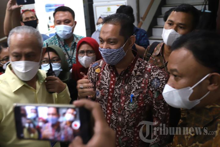 Wakil Ketua KPK Nurul Ghufron Sambangi Komnas HAM