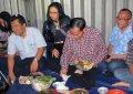 Jokowi Makan Malam Dilesehan Milik Anggota Band Gothic Metal Dre