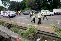 Olah TKP Kecelakaan Anak Ahmad Dhani