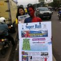 Launching Koran Super Ball di Bandung