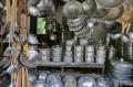 Akibat Pandemi Covid-19 Pasar Wajan Di Tuntang Sepi Pembeli