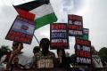 Aksi Bela Palestina di Jakarta
