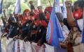 Aksi Buruh Aceh Tolak Surat Menteri yang Tak Menaikan UMP 2021