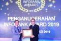 Amar Bank Terima Penghargaan Infobank Awards 2019