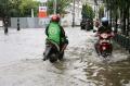 Banjir di Jalan Taman Tawang Kawasan Kota Lama